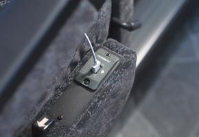 全席に充電用USBコネクタ