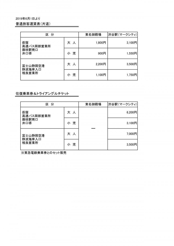 相良渋谷_運賃表_20190601