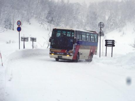 雪道走行訓練