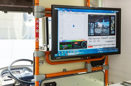映像収録・動揺計測・走行データ計測