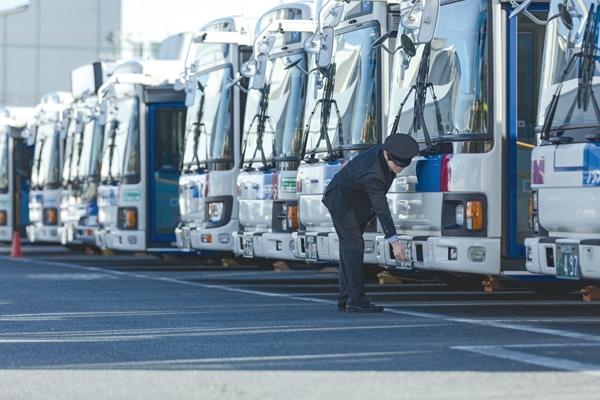 バス運転士の感染症対策