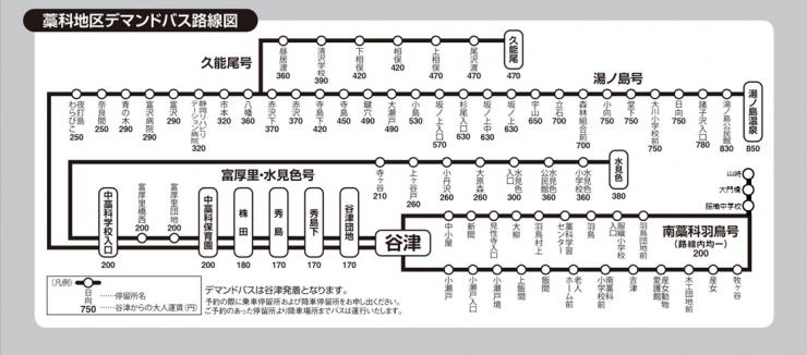 路線図・運賃表